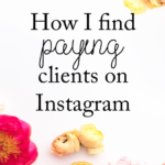 how to find paying clients on instagram