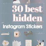 30 best Instagram stickers
